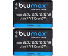 2 X Blumax Akku für Siemens Gigaset V30145-K1310K-X444 / V30145-K1310-X445