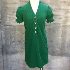 Anthropologie Maeve Sherwood Corduroy Dress Sz 2