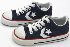 CONVERSE ALL STAR BABY BOY GIRL SNEAKER SHOES CASUAL CANVAS CODE 731325C DEFECT