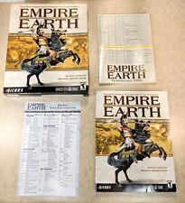 Empire Earth PC Game 2001 Big Box
