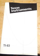 Texas Instruments TI-83