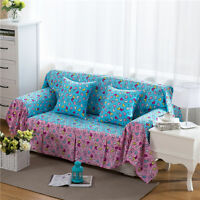Love Heart Linen Blend Slipcovers Sofa Cover Pet Protector for 1 2 3 4 seater L