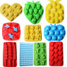 Silicone/Rubber Ice Ball Cube Tray Freeze Mold Bar  Pudding Chocolate Mold Maker