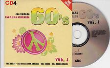 CD CARTONNE CARDSLEEVE 60's 20T FOUNDATIONS/EASYBEATS/SEDAKA/BOONE/DONOVAN