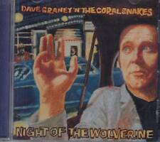 Dave Graney N The Coral Snakes Night Of The Wolverine CD Alternative Art Rock