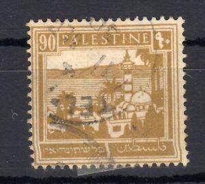 PALESTINE , 1927 , scarce KEY VALUE 90 M. ex set , USED