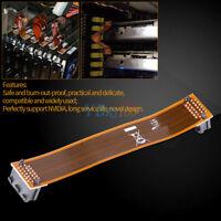 "Flexible SLI Bridge PCI-E Video Card Cable Connector Adapter 4.7"" For NVidia stw"