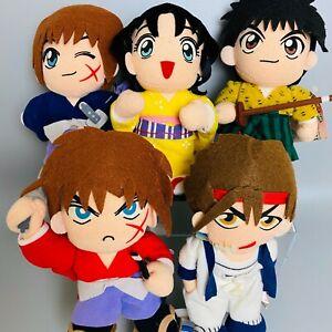 Rurouni Kenshin Plush Toy 5 types set Stuffed Plush doll BANPRESTO