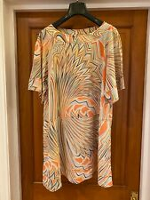 Missoni 70s Style Silk Patterned Hippy Mini Dress Size M