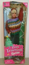 1998 Playline Collector TREE TRIMMING Blonde Barbie