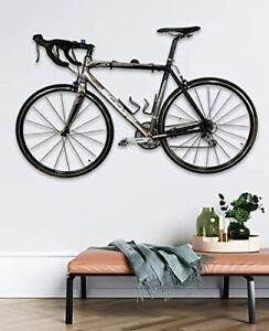 StoreYourBoard Naked Bike Wall Display Mount, Floating Bicycle Storage Rack, Hom