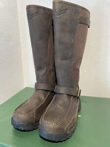 "Danner Men's 45040 Sharptail Snake Boots 17"" Brown GTX Waterproof Hunting 11.5 D"