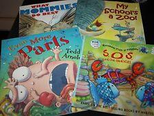 Rainbow Fish Book Lot Teacher Even More Parts What Mommies Do Best --IIX