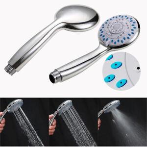 Universal Adjustable Massage Spa Bath Shower Heads Handheld Spray High Pressure