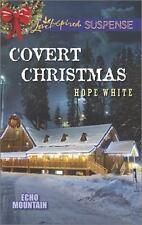 Covert Christmas (Echo Mountain), White, Hope,0373446276, Book, Good