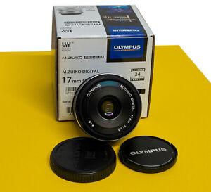 OLYMPUS M.ZUIKO DIGITAL 17mm F1.8 (black) Objetivo para Micro 4/3