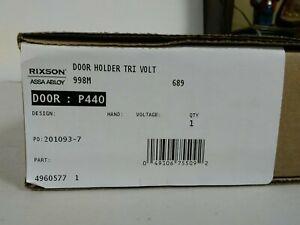 NIB RIXSON/ASSA ABLOY TRI VOLT DOOR HOLDER 998 689