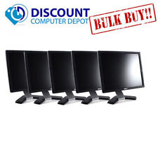 "LOT of 5 -- Dell UltraSharp 17"" Monitor Desktop Computer PC LCD (Grade B)"