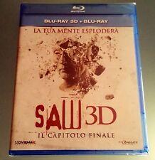 SAW 3D - IL CAPITOLO FINALE  BLU-RAY 3D + BLU-RAY HORROR