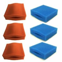 COMPATIBLE SET OASE BIOTEC 5/10/30 FILTER FOAMS 6 SPONGES REPLACEMENT COARSE