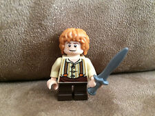 Lego Bilbo Baggins Lord of the Rings Hobbit Minifigure 79003 Dagger Overall HTF