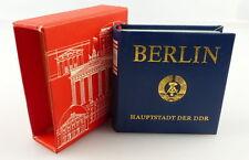Minibuch: Berlin Hauptstadt der DDR, Verlag Zeit im Bild Dresden 1980  /r600