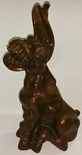 RED MILL CRUSHED PECAN SHELL MULE / DONKEY FIGURINE - USA