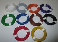 [0,1195€/m] Litze  flexibel 18x0,10     10 Ringe a 10 Meter  NEU