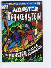 Monster of Frankenstein #5 Marvel 1973