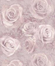 Arthouse Reverie Blush Wallpaper Roses Pink Damask Floral Rose 623302