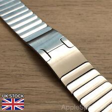 Genuine Apple Watch Band - 42MM Link Bracelet - Silver - New - 316L Steel