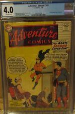 ADVENTURE COMICS #26, CGC 4.0 1st Silver age ORIGIN AQUAMAN! SUPERBOY! 1959