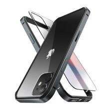 Supcase iPhone 12 Case 12 Pro 6.1 Inch Ubedge Slim Metal Bumper Cover Tpu