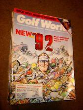 October 18, 1991 old vintage Golf World magazine