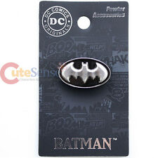 DC Comics Batman Logo  Pin Badge 3D Bat Logo Pewter Brooch