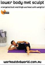 Pilates Barre Fusion EXERCISE DVD - Barlates Body Blitz LOWER BODY MAT SCULPT!