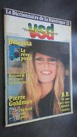 Journal Vsd Brigitte Bardot N º 108 de La 27 Septiembre A 3/10/1979 Buen Estado
