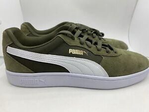 Puma Astro Kick Men's Casual Shoes 369115-02 Olive Green/Wht Sz 12