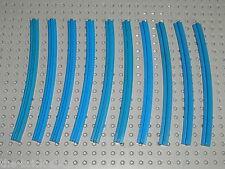 10 rails LEGO TRAIN 12v 4,5v ref 3230a track / 725 726 119 113 183 722 181 120