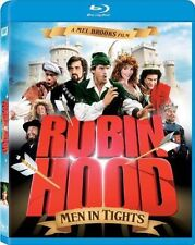 Blu Ray ROBIN HOOD MEN IN TIGHTS. Mel Brooks. UK compatible. New sealed.