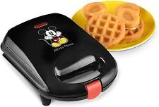 Disney Kitchen Dcm-9 Mickey Mini Waffle Maker Black Dining Small Appliances New