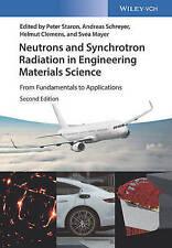 Staron-Neutrons and Synchrotron Radiation 2e BOOKH NEW