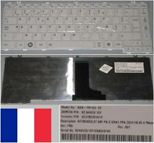 Clavier Azerty Français TOSHIBA L600 L630 L640 NSK-TM1GV 9Z.N4VGV.10F Blanc
