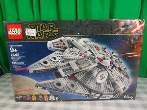 LEGO Star Wars Rise of Skywalker Millennium Falcon 75257 New Sealed Damaged Box