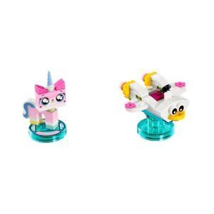 LEGO 71231 - Dimensions: Fun Pack - Unikitty & Cloud Cuckoo Car - NO BOX