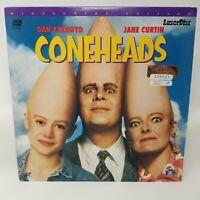 Coneheads 1993 PG Laserdisc Dan Aykroyd Jane Curtain