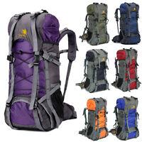 60L Camping Travel Rucksack Backpack Climbing Hiking Bag New 8 Colors Day Packs
