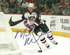 Mike Modano Hand Signed 8x10 Photo Team USA Hockey Autograph Picture Signature