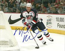 Mike Modano Hand Signed 8x10 Photo Team USA Hockey Autograph Picture Signature