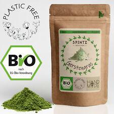 1000g Bio Gerstengraspulver - Gerstengras Pulver gemahlen - für Tee & Smoothies